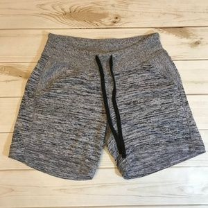 Athleta XS Space Dye Marble Pocket Shorts Comfy